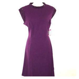 NWT Beautiful Purple Lined Dress Size 16